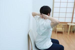 肩甲骨の内転チェック